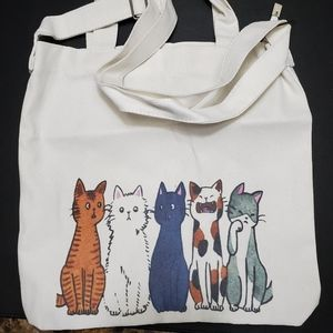 Handbags - Kitty cat tote bag
